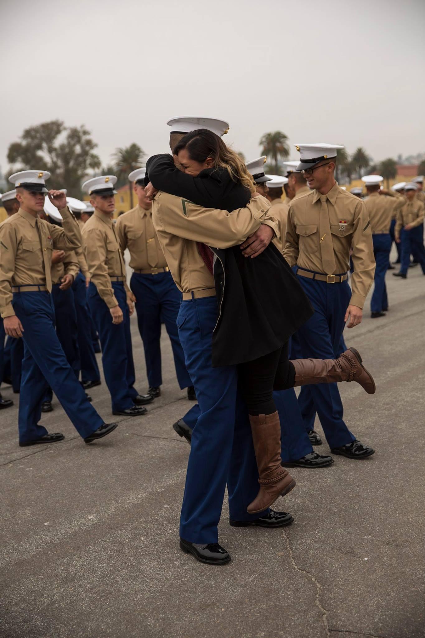 Marine Corps Recruit Depot San Diego Graduation Graduation