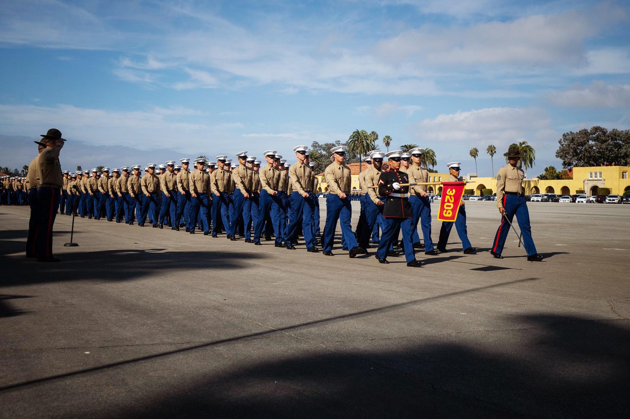 Marine Corps Recruit Depot San Diego Graduation Graduation Program
