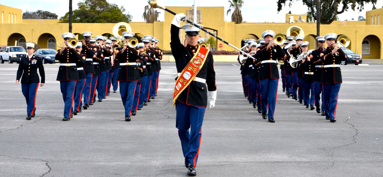 marine corps recruit depot san diego gt units